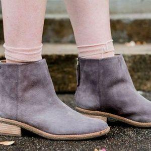 NEW Sperry Gray Suede Maya Belle Grey Booties boot